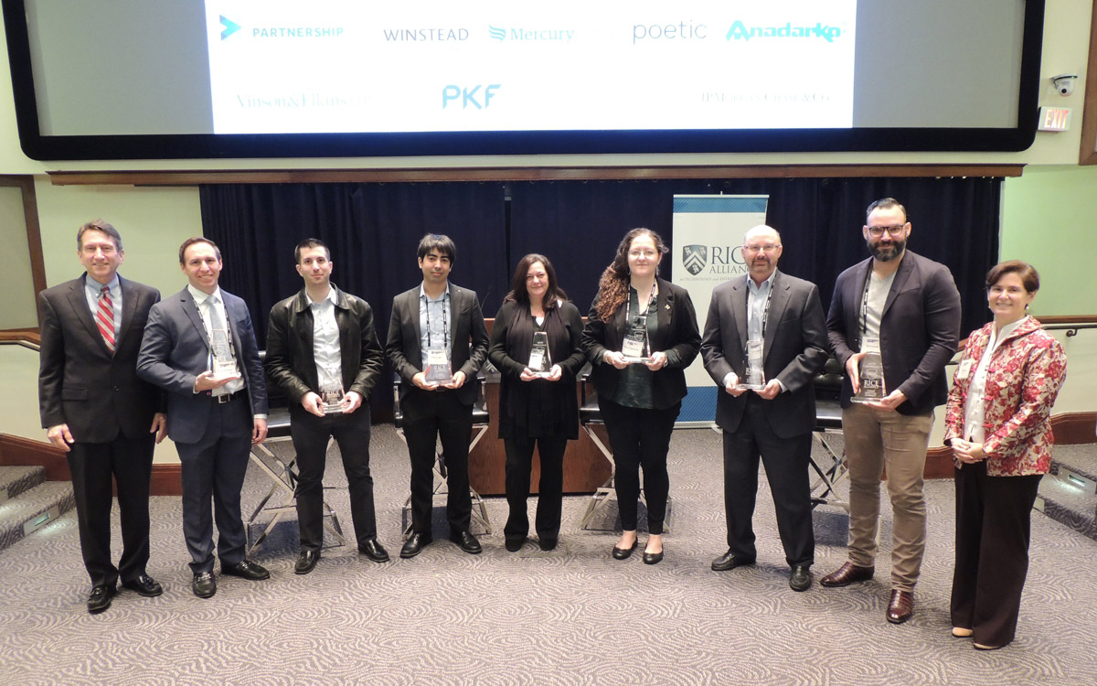 10 Most Promising Rice Alliance Digital Technology Companies awarded at the 2018 Texas Digital Summit